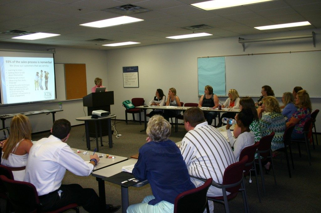 KPS Sales Director Teresa Revlett had 16 ad sales reps attend today's 'Just the Basics' seminar in Lexington
