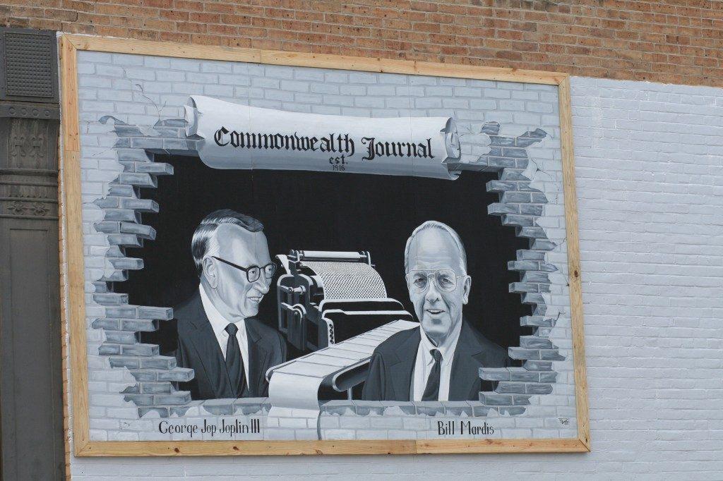 George Joplin III and Bill Mardis mural