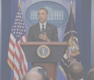 MICHAEL REYNOLDS/EPA – US President Barack Obama delivers remarks in the Brady Briefing Room of the White House, in Washington DC, USA, 21 November 2013.