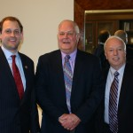 Congressman Andy Barr, with David T. and Chip Hutcheson